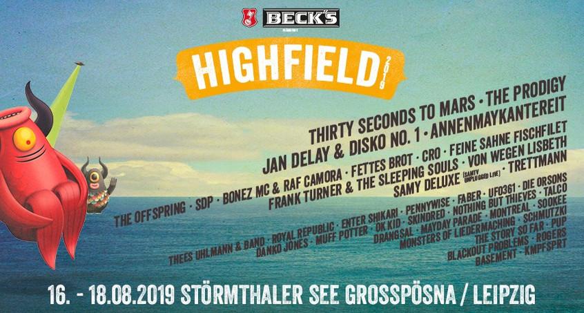 HIGHFIELD 2019 GEWINNEN